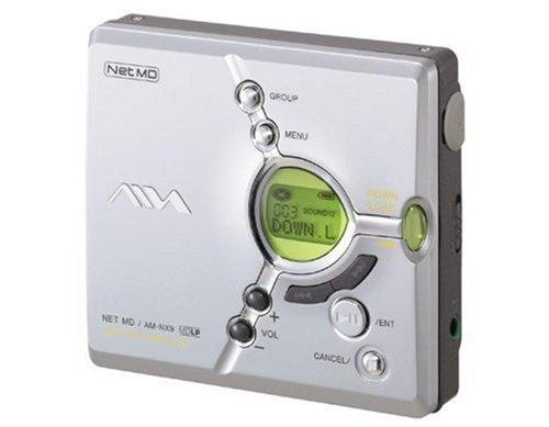 Aiwa AM-NX9 MiniDisc-Rekorder blau