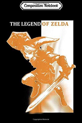 Composition Notebook: Legend Of Zelda Link Orange Hue Split Poster Logo Journal/Notebook Blank Lined…