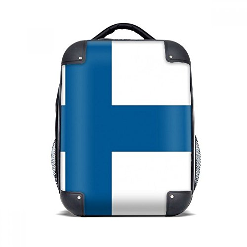 DIYthinker Finnland Nationalflagge Europa Land Hard Case Schulter Kind-Rucksack-Geschenk 15