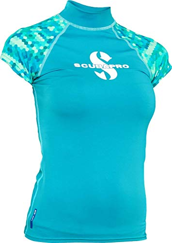 SCUBAPRO Caribbean Rash Guard Ärmellos Damen Slim Fit UV-Shirt Collection 2017 (XS)