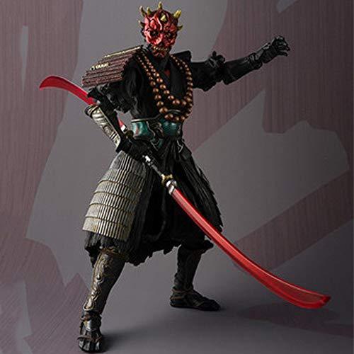 Hclshops Spielzeug Star Wars-Animation Modell, Modell Statue von Darth Maul, Tischdekoration, 18cm Spielzeugstatue