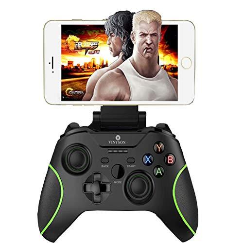 CSZH Sans Fil Manette USB Gamepad Controller Android Apple xbox360 Mobile Bluetooth Gamepad Ordinateur USB Contrôleur TV pour pc King Glory Contra Comeback Steam