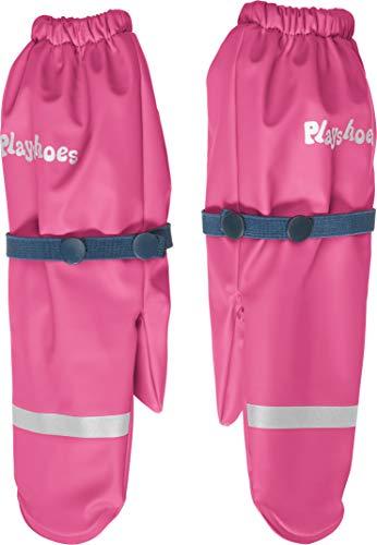 Playshoes Mädchen Matschhandschuh mit Fleece-Futter Handschuhe, Rosa (Pink 18), 3 (Herstellergröße: 3)