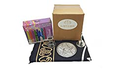 Clarity & Muse Wiccan Altar Supplies in Kraft Box