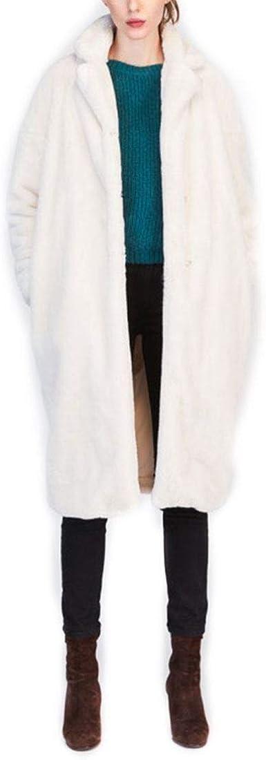 Tara Jarmon - White Faux Fur Coat - Ercu - 42