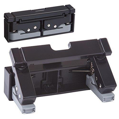 リヒトラブ コンパクトパンチ 黒 P-1040-24 00435513【まとめ買い3台セット】