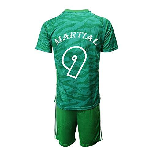 YUUY Anthony Martial#9 Herren-Fußballtrikot, Sportweste leitet Schweiß ab und trocknet schnell (Color : F, Size : Child-26)