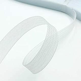 Stiff Polyester White Horsehair Braid, Selling Per Roll (1/2'' Wide)42 Yards/roll