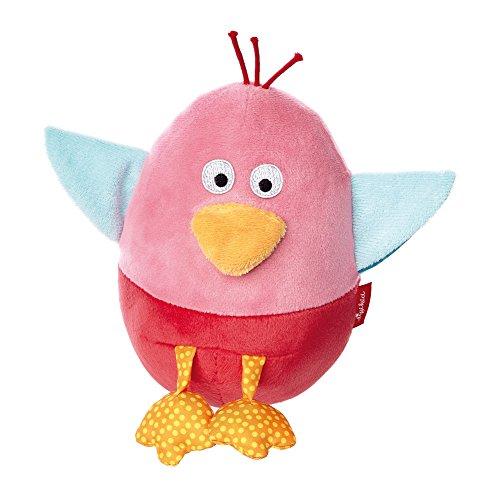 sigikid, Mädchen, Stehauf-Spielfigur Vogel, Crocodile´s Friends, Rosa, 41302