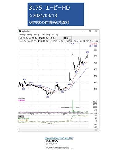 3175 エーピーHD ☆2021/03/13 材料株の作戦検討資料