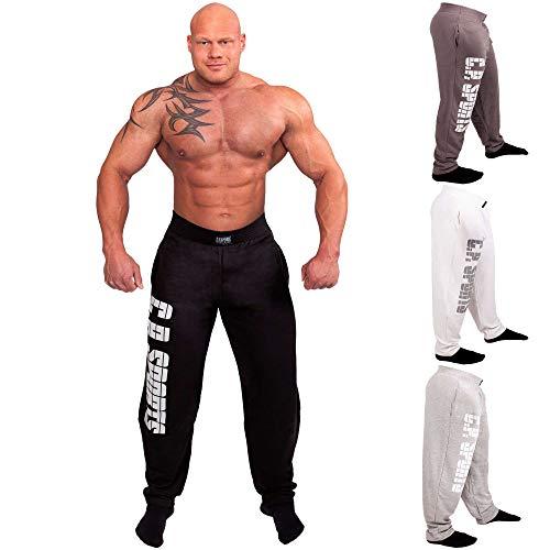 Comodissimi, classici per sport e tempo libero Pantaloni Tasche laterali e vita elasticizzata Ottima qualità Colore: grigio scuro Disponibile nelle taglie: S, M, L, XL, XXL