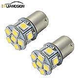 Ruiandsion 2pcs 1157 LED Bulb White 6V BAY15D 5050 12SMD LED Light Bulbs for...