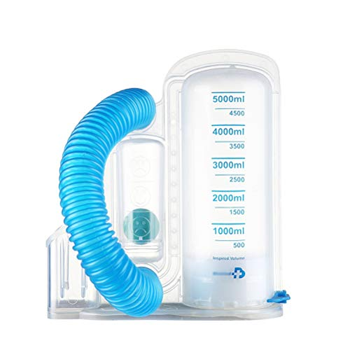 Review Of MC.PIG Functional Exercise Spirometry Training Device-Single Ball Instrument 2500Ml Spirom...
