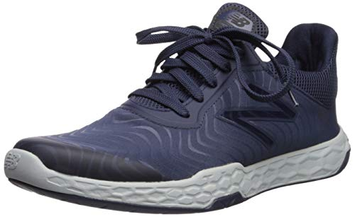 New Balance Men's Fresh Foam 818 V3 Cross Trainer, Nb Navy/Light Aluminum, 7.5 M US