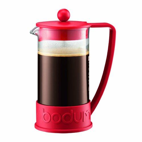 Bodum BODUM ボダム BRAZIL フレンチプレスコーヒーメーカー 1.0L レッド 10938-294 [7439]