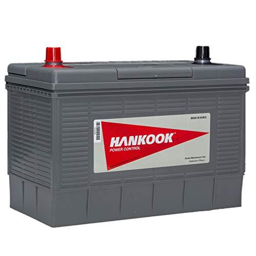 Hankook DC31S 12V 100Ah Batterie Decharge Lente Pour Loisir Caravane et Camping Car - 330x172x242