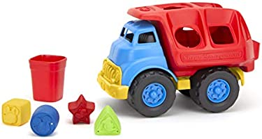 Green Toys Disney Baby Exclusive - Mickey Mouse & Friends Shape Sorter Truck (DSPTK-1434)
