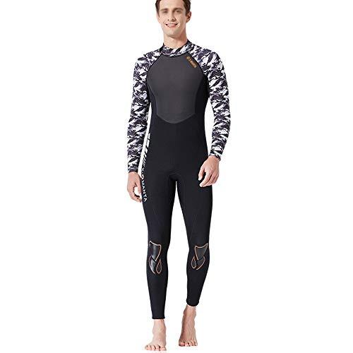 Wetsuit, heren duikpak 3 mm eendelig neopreenpak snorkelen surfen kwalle kleding aanbieding voor beginners en sportfans