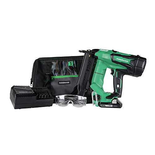 Metabo HPT Cordless Brad Nailer Kit | Unique Air Spring Drive System | 18V Brushless Motor | 18...