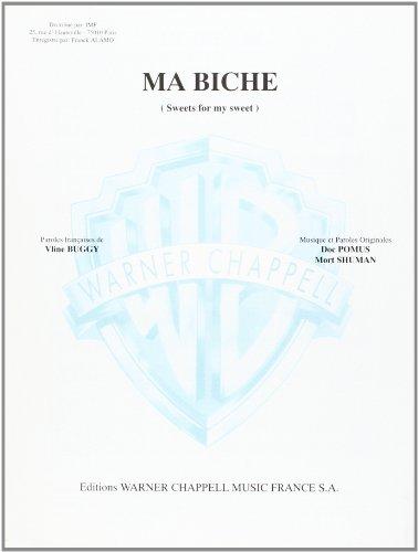 Ma Biche Piano/Chant/Accords