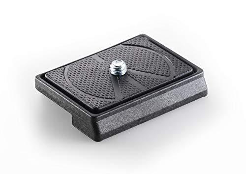 Manfrotto 200LT-PL Schnellkupplungsplatte, Technopolymer & Fiberglas, rechteckig, leicht