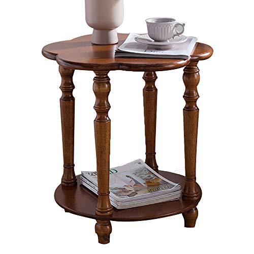M-Y-L nachtkastje Tafel Zijtafel massief hout slaapkamer nachtkastje woonkamer kleine ronde tafel hoekbank kleine theetafel