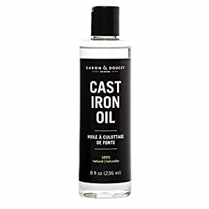 PREMIUM CAST IRON CONDITIONING & SEASONING OIL | Made with FOOD grade, solvent-less, refined coconut oil that is safe for food contact and cast iron surfaces. The result is a premium product that unlike our competitors is guaranteed to be made exclus...