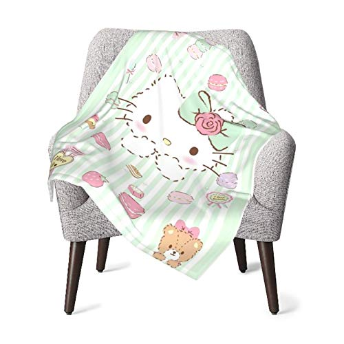 DNBCJJ Baby-Decke, schüchternde Katze, weich, warm, für Neugeborene, Kinderwagen,...