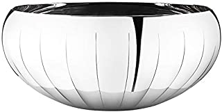 Georg Jensen Stainless Steel Legacy Mirror Bowl Large New