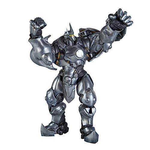 Overwatch Ultimates Serie Reinhardt 15 cm große Action-Figur zum Sammeln mit Accessoires – Blizzard Videospiel Charakter, E6389EU4