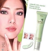 Mistine Spotlight Cream Make up Base Brightens Skin #Green 15 G.