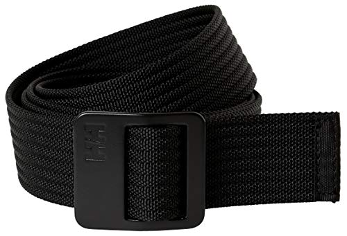 Helly Hansen Hh Webbing Belt Ceinture mixte adulte S Noir (990 Black)