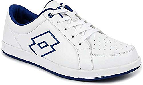 Lotto Women's White/Blue Logo Plus W 6