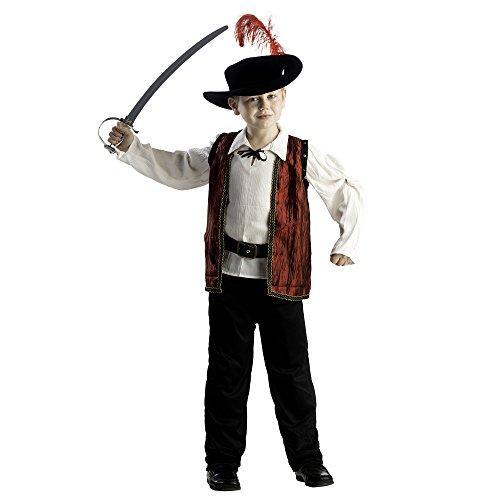 Dress Up America Mutiges Musketier-Kostüm für Kinder