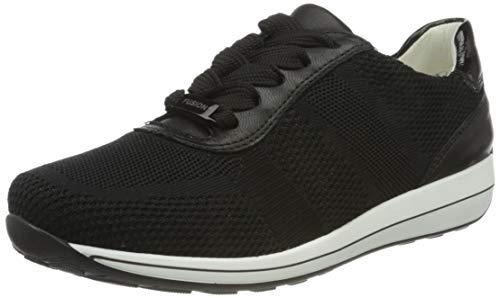 ara Damen OSAKA Sneaker, Metallic, Schwarz 05), 36 EU(3 UK)