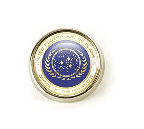 Star Trek (Federation of Planets) Revers/Krawattennadel