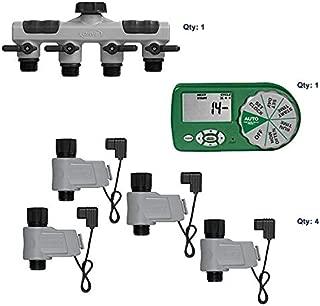 Orbit 58911 Complete Yard Watering Kit 4 Valves