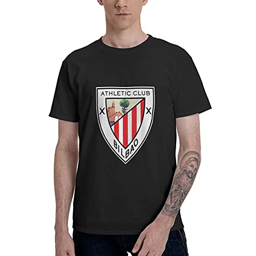 Athletic Bilbao - Camiseta de manga corta para hombre