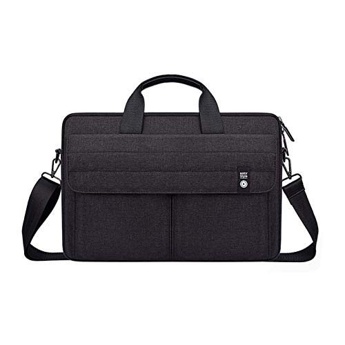 Laptop Shoulder Bag Slim Portable Sleeve Carrying Case With Strap for 14.1-15.4 Inch Laptop