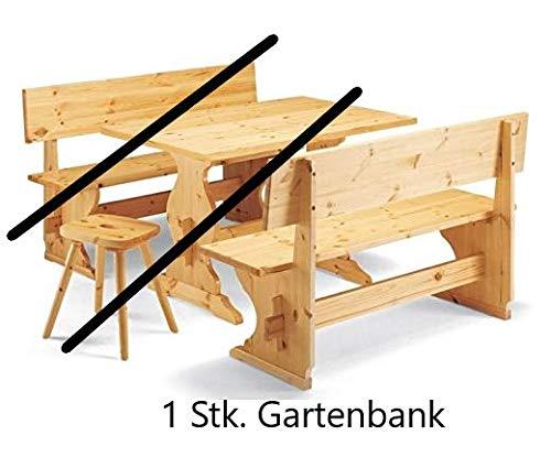 Topstoel tuinbank houten bank grenenhout naturel gelakt massief houten bank (200 cm)
