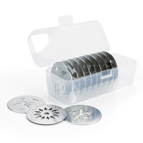 OXO Good Grips Cookie Press with Disk Storage Case (1, A)