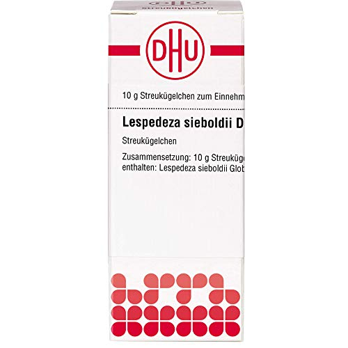 DHU Lespedeza sieboldii D4 Globuli, 10 g Globuli