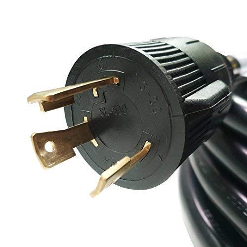 Parkworld NEMA L6-30 Extension Cord, Locking 3-Prong, 30 AMP, 250 Volts, 7500 Watts (25FT)