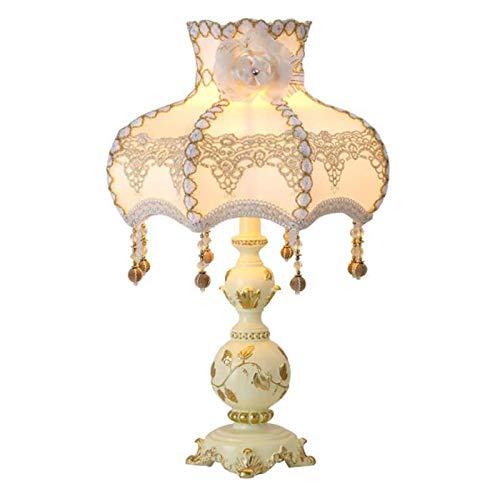 XFXDBT Lámpara De Cabecera De Dormitorio Retro Lámpara De Decoración De Sala Palacio Europeo