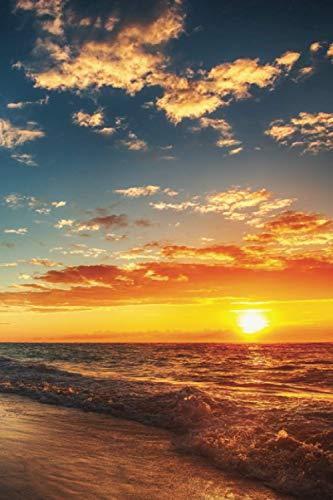 Notebook: Dominican Republic La Altagracia Province Higüey Punta Cana / Cabeza de Toro Bávaro El Cortecito Las Corales Cabeza de Toro beaches & ... Northern Tropics / Sunset / 6x9' (108 pages)