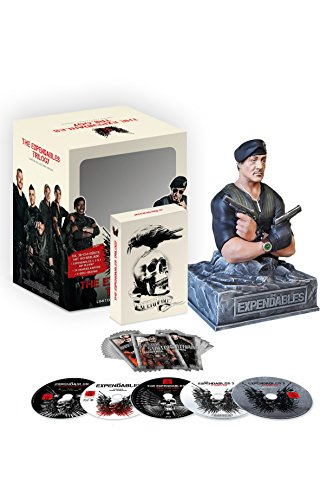 The Expendables Trilogy mit Stallone-Büste & 24 Sammelkarten [5Blu-ray] [Limited Collector's Edition] [Limited Edition]