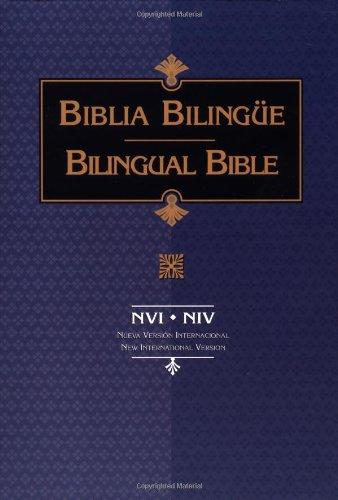 NVI-NIV Bible Biblia Bilingue (Spanish and English Edition)