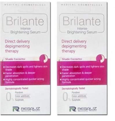 Regaliz brilante intense brightening serum - ultra brightening serum(pack of 2)30ml