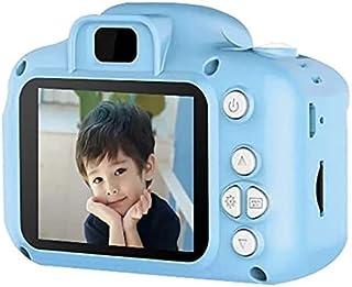 كاميرا رقمية للأطفال بدقة 8 ميجابكسل للصور والفيديو، وشاشة LCD، قابلة لإعادة الشحن