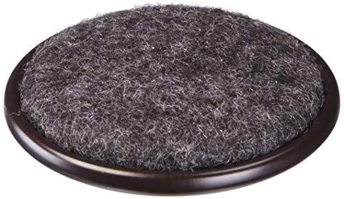 Shepherd Hardware 9091 2Inch Carpet Base Furniture Cups 4PackBrown